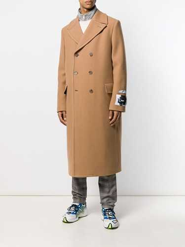 Picture of Msgm | Oversized Double-Breasted Coat