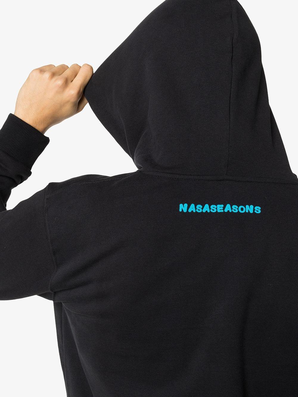 Picture of Nasaseasons | Dark Angel Print Hoodie