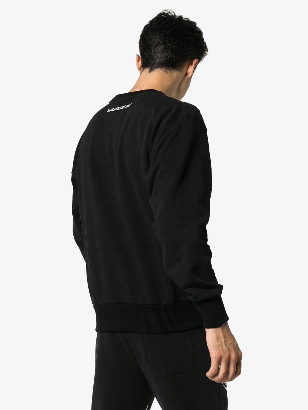 Picture of Nasaseasons | Broken-Chain Print Sweatshirt