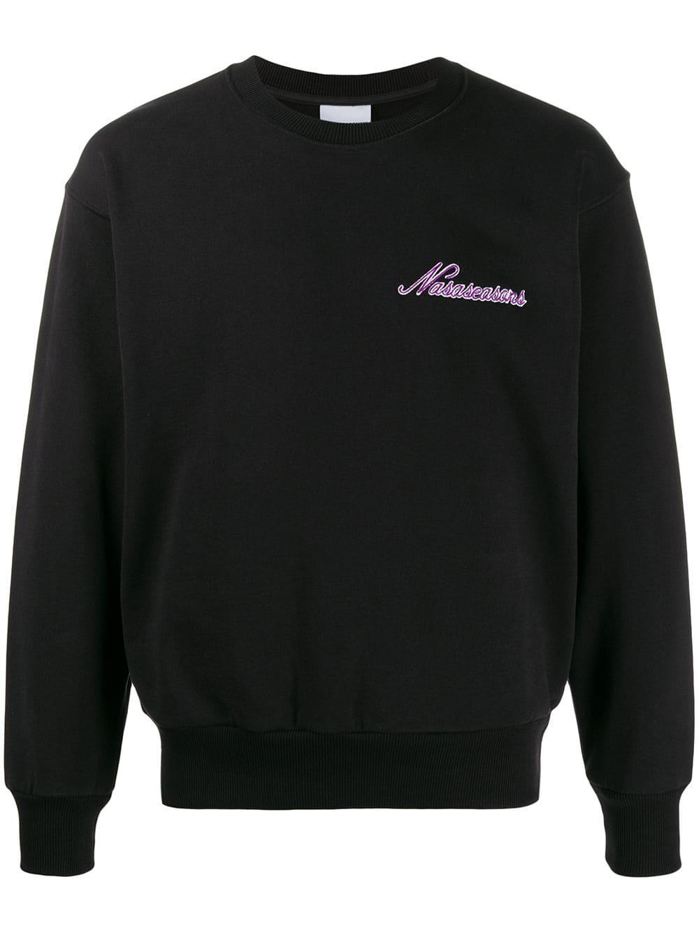 Picture of Nasaseasons | Embroidered Logo Sweatshirt