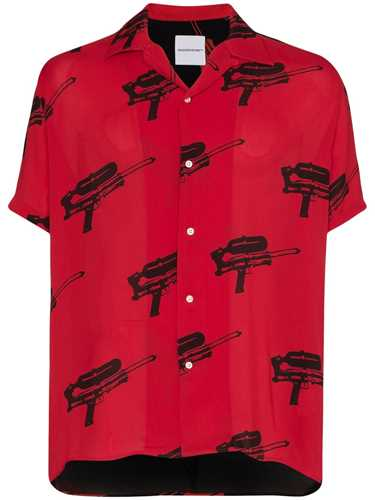 Picture of Nasaseasons | Water-Blaster Print Shirt