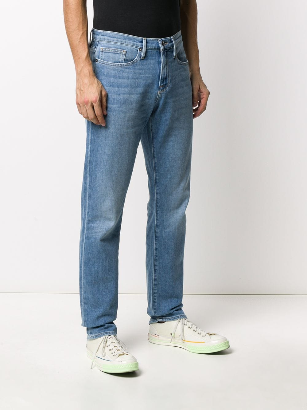 Picture of Frame Denim | High-Rise Slim Fit Jeans
