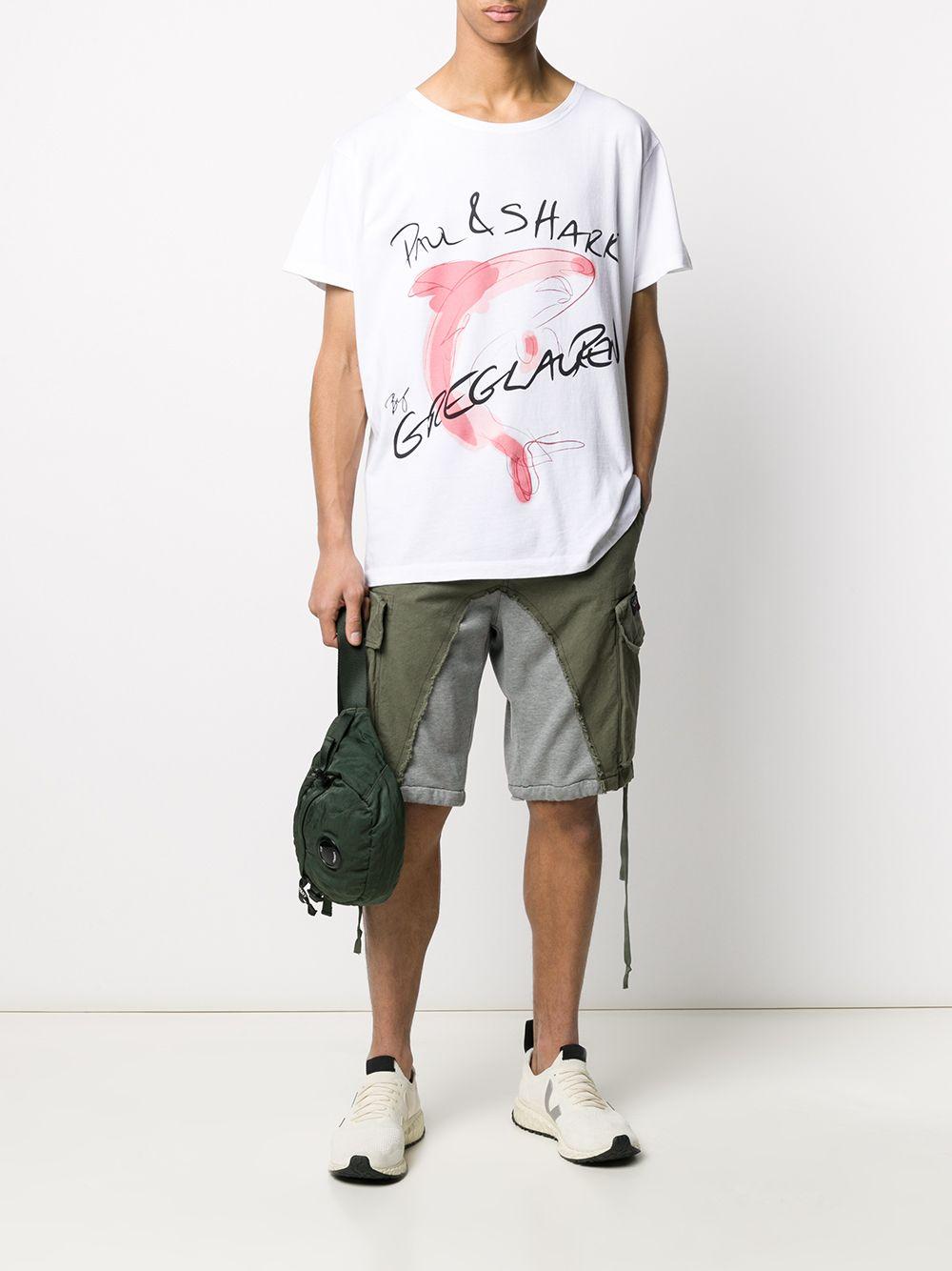 Picture of Paul & Shark X Greg Lauren | Combined Bermuda Shorts