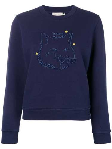 Picture of Maison Kitsune` | Embroidered Fox Sweatshirt