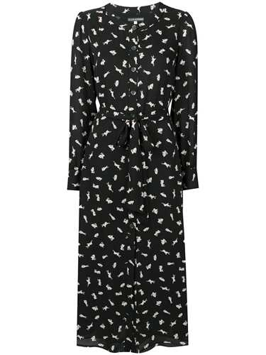 Picture of Alexachung | Bunny Print Shirt Dress