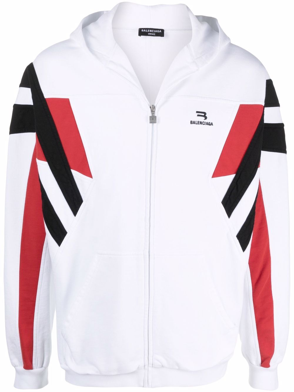 Picture of Balenciaga   Sporty B Zip-Up Hoodie