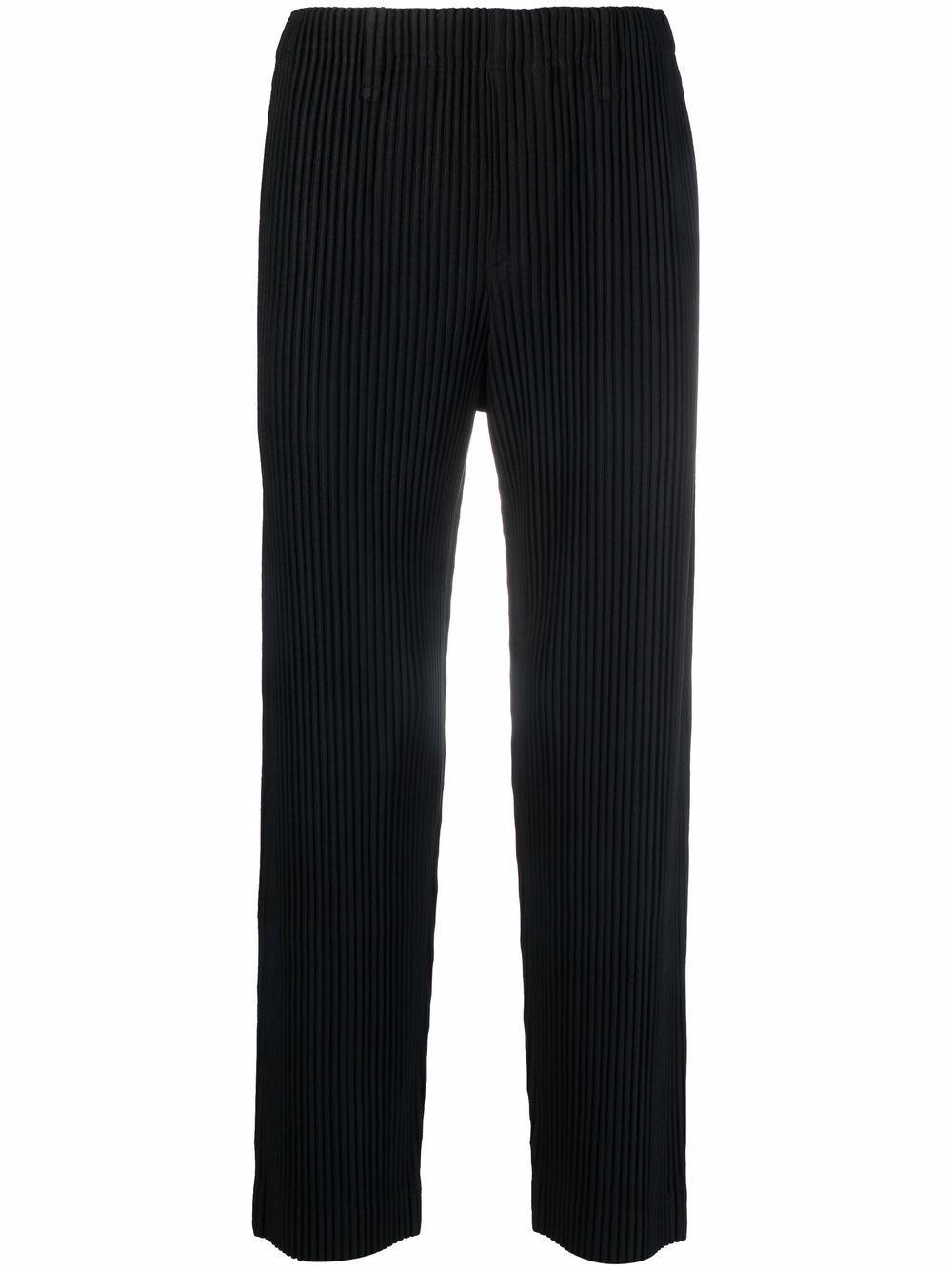 Picture of Homme Plisse`   Plissé Straight-Leg Trousers