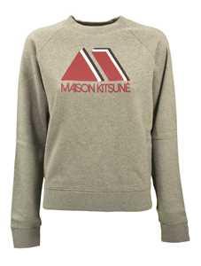 Picture of Maison Kitsune` | Triangle Sweatshirt