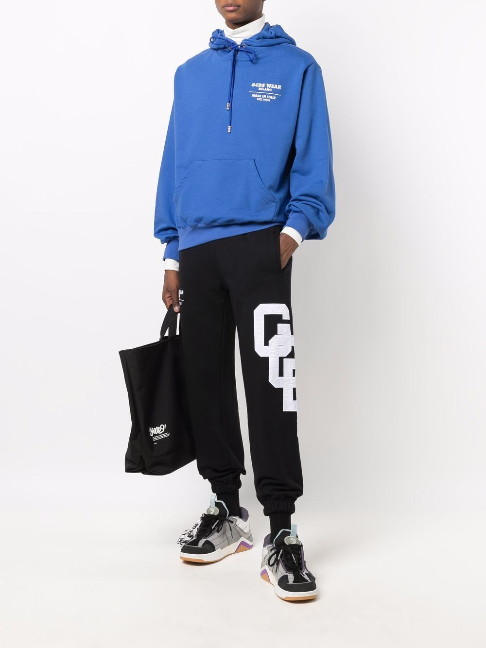 Picture of Gcds   Logo-Patch Cotton Joggers