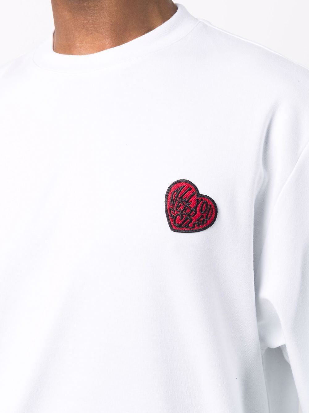 Picture of Gcds   Heart Detail T-Shirt