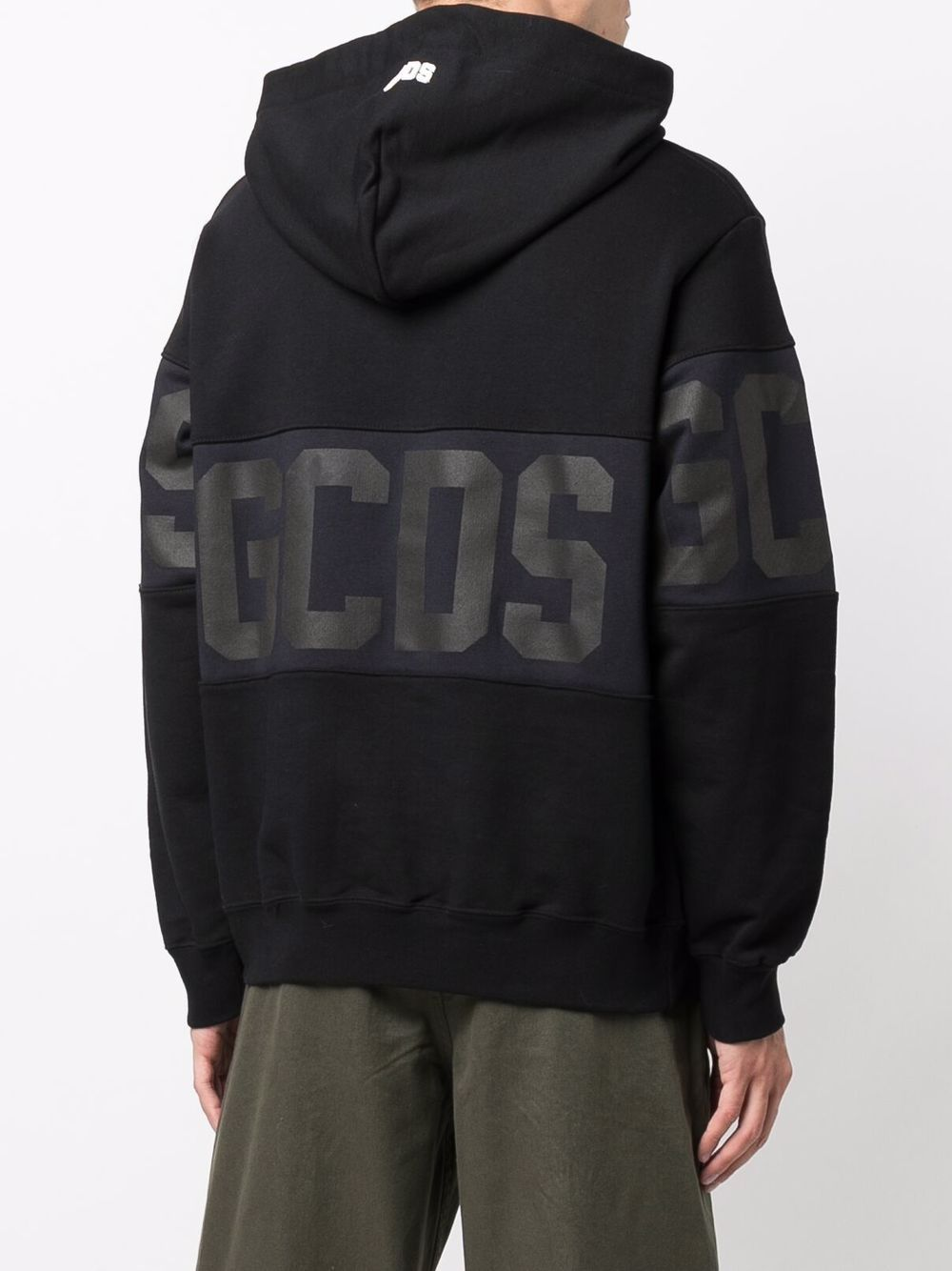 Picture of Gcds | Logo-Print Hoodie
