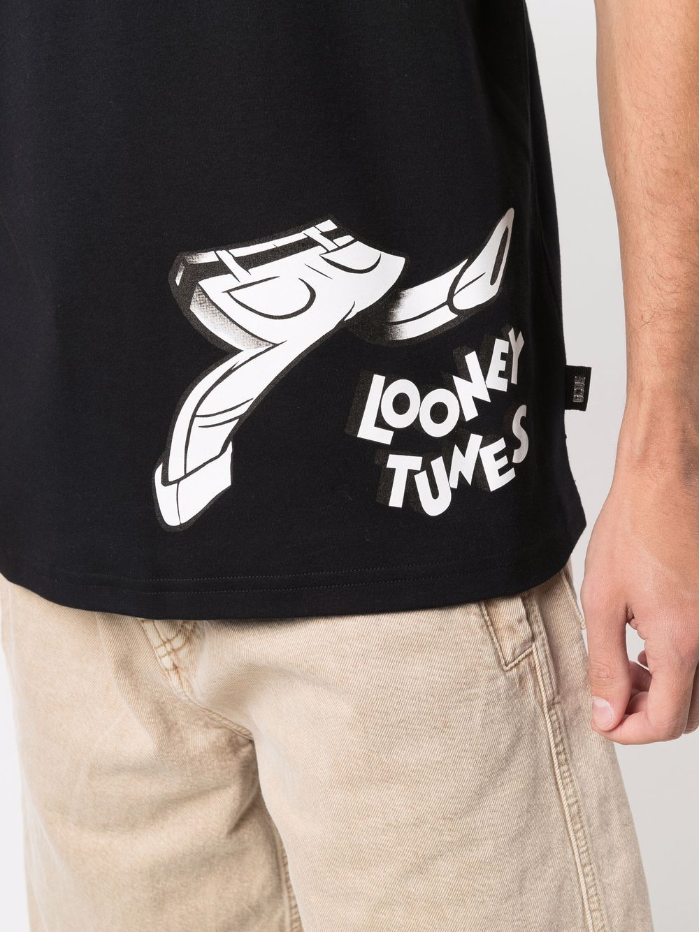 Picture of Gcds   Looney Tunes Logo-Print T-Shirt