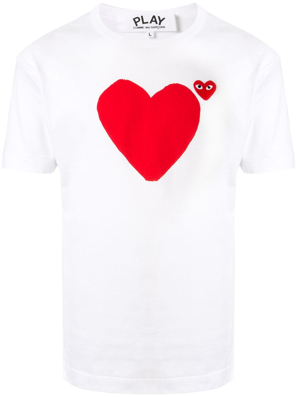 Picture of Comme Play | Green Heart T-Shirt