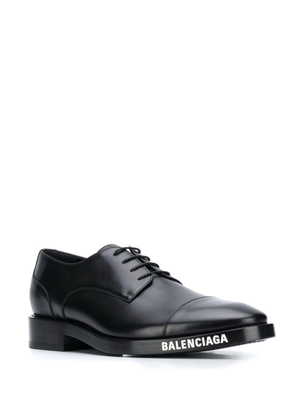 Picture of Balenciaga   Logo Evening Derbies