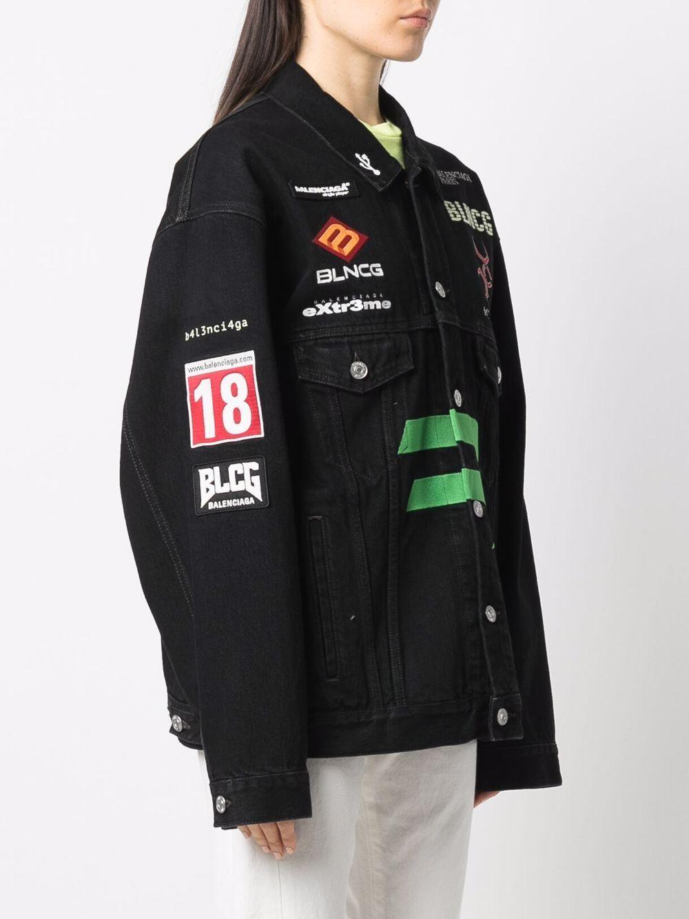 Picture of Balenciaga   Gamer Denim Jacket