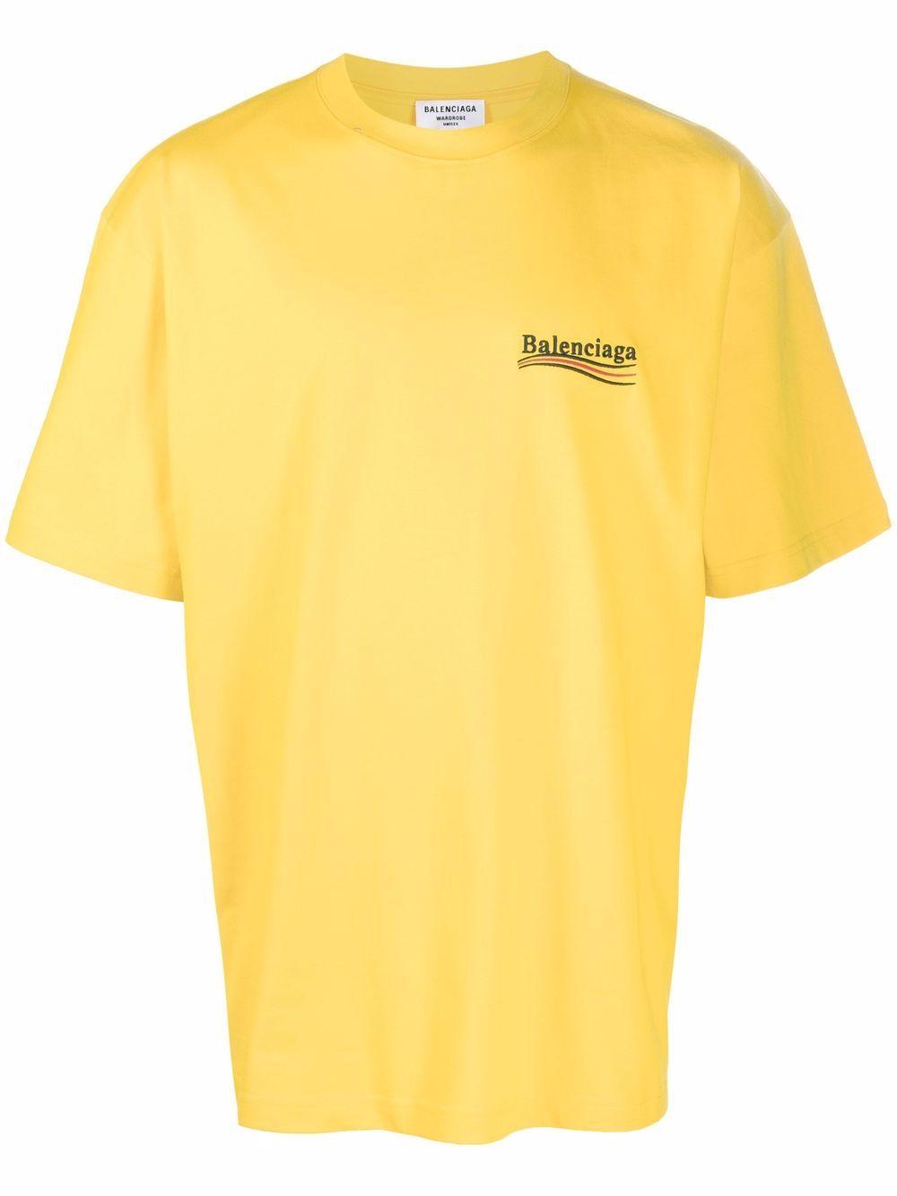 Picture of Balenciaga | Campaign Logo T-Shirt