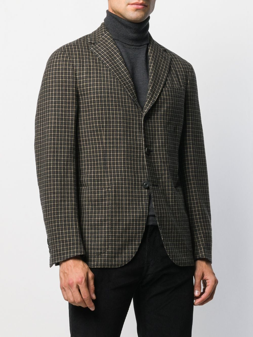 Picture of The Gigi | Single-Breasted Checked Blazer