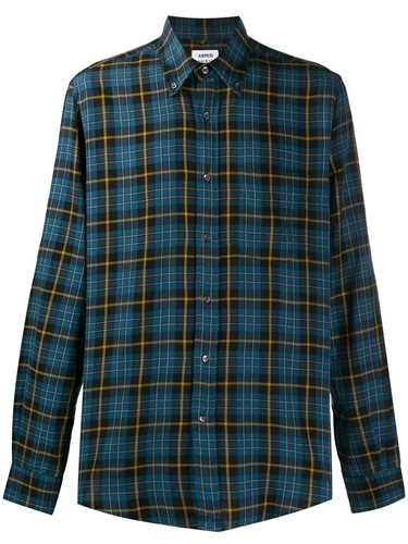 Picture of Aspesi | Checked Long Sleeved Shirt