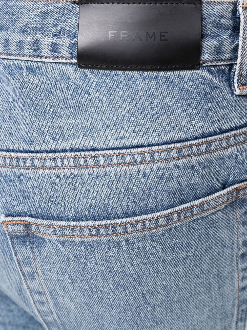 Picture of Frame Denim | Washed Straight-Leg Jeans
