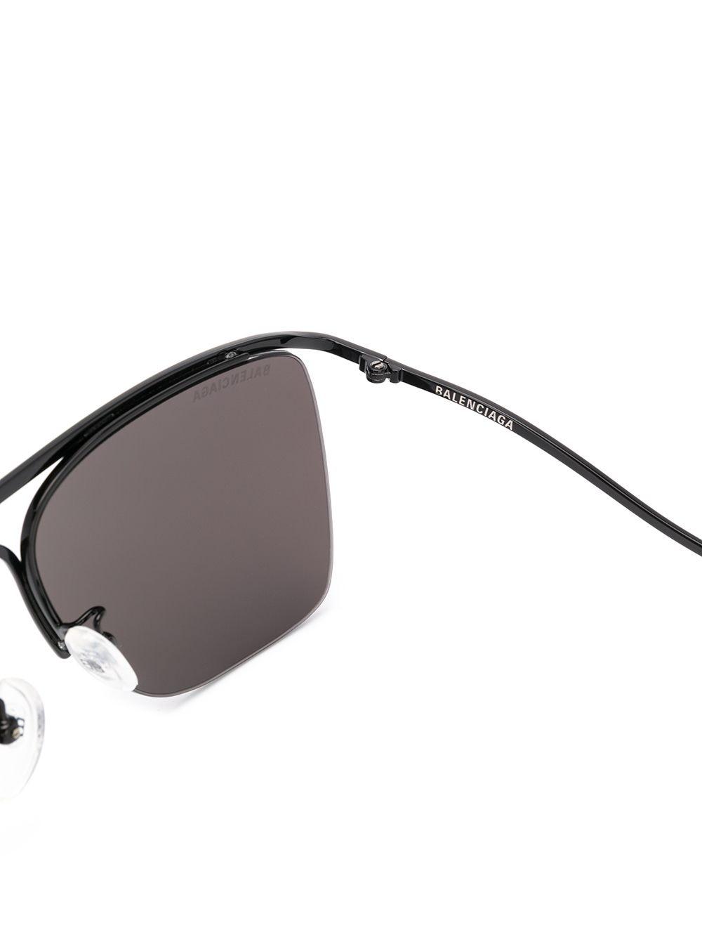 Picture of Balenciaga | Navigator-Frame Sunglasses