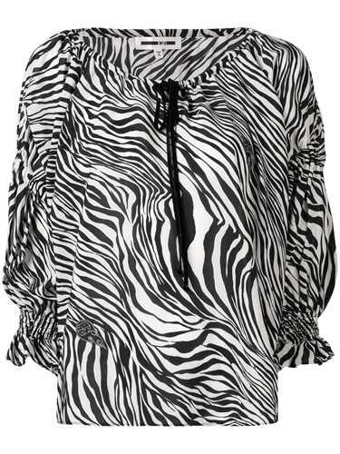Picture of Mcq | Zebra Print Blouse