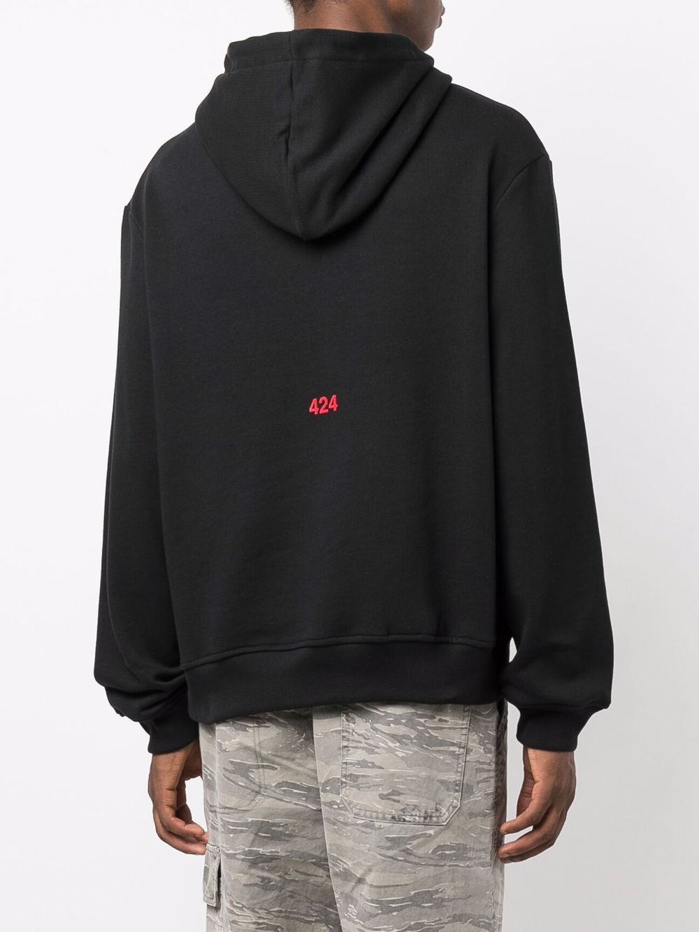 Picture of 424   Graphic-Print Cotton Hoodie