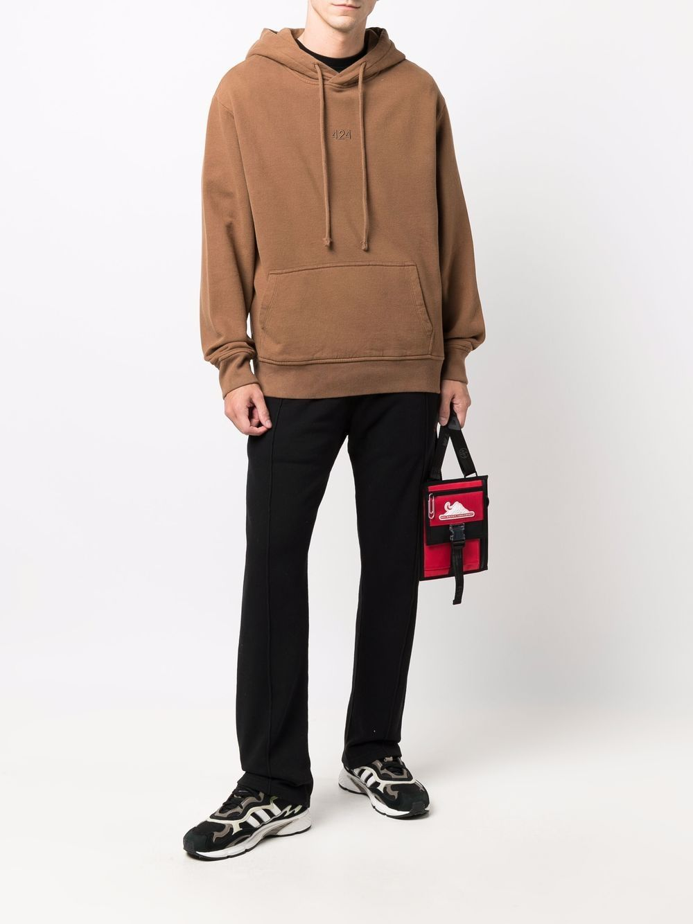 Picture of 424   Embroidered-Logo Pullover Hoodie