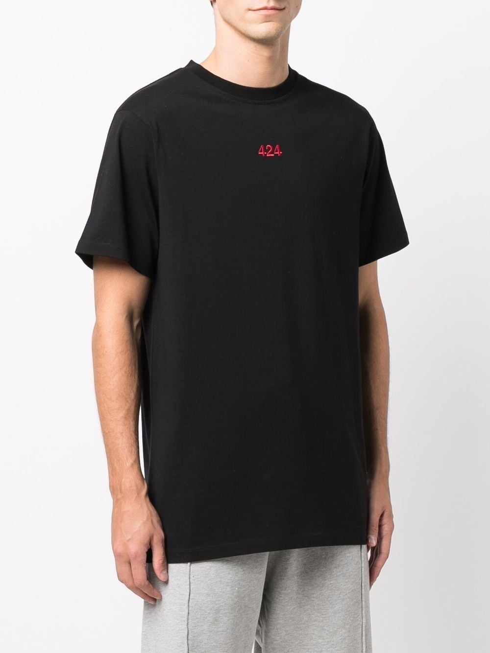 Picture of 424 | Embroidered Logo T-Shirt