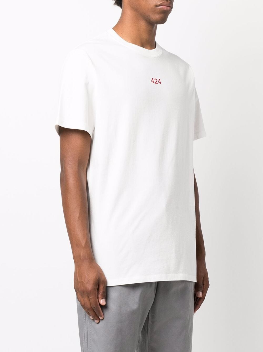 Picture of 424   Embroidered Logo T-Shirt