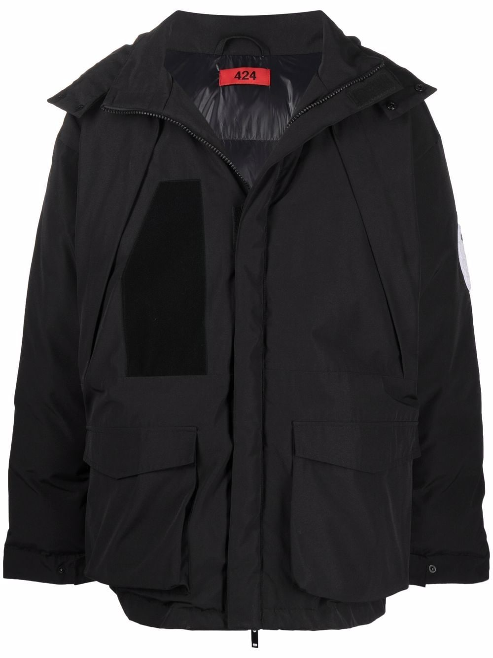 Picture of 424 | Padded Hooded Coat