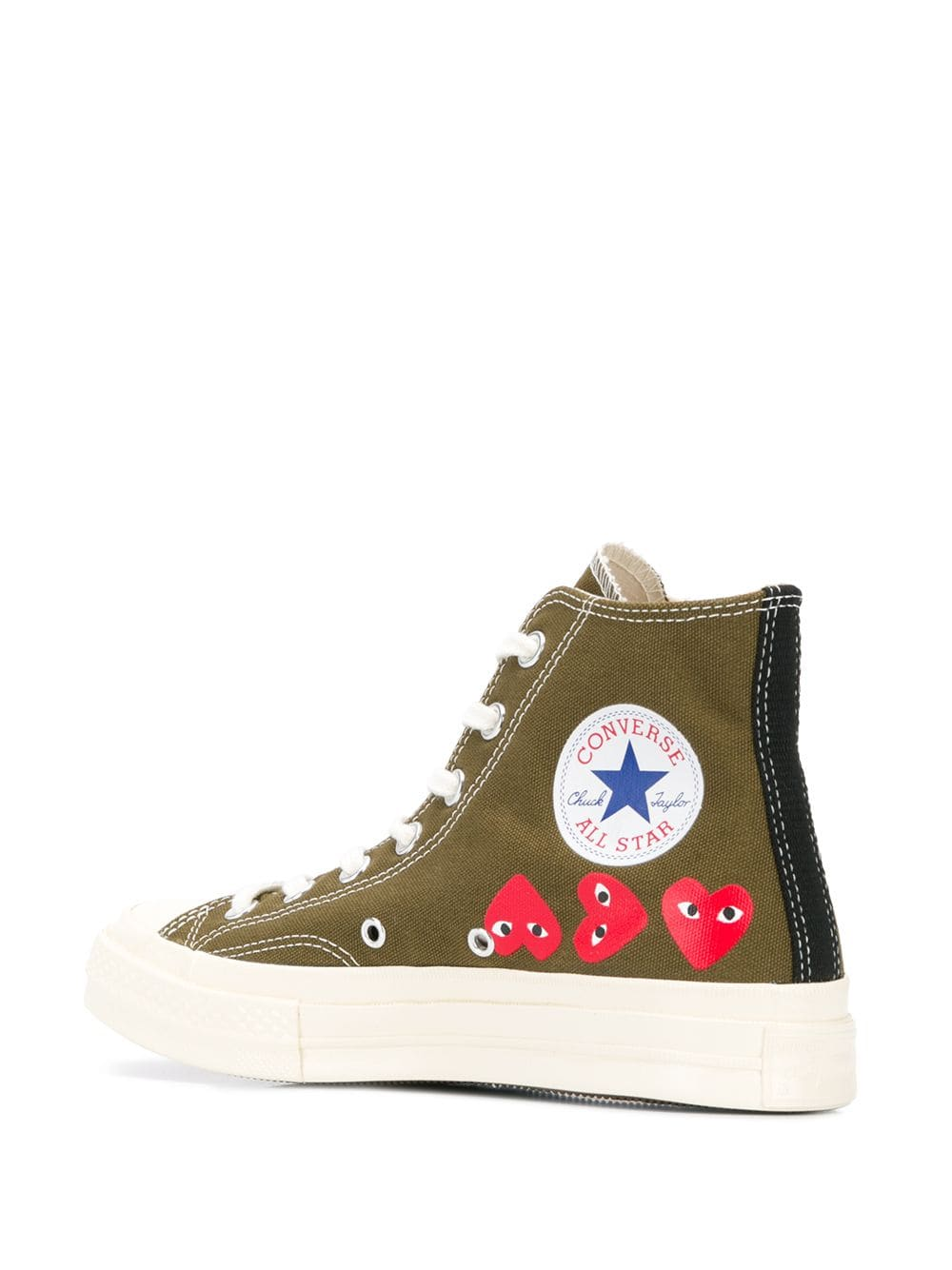 Picture of Comme Play | Ct70 Multi Hi Top