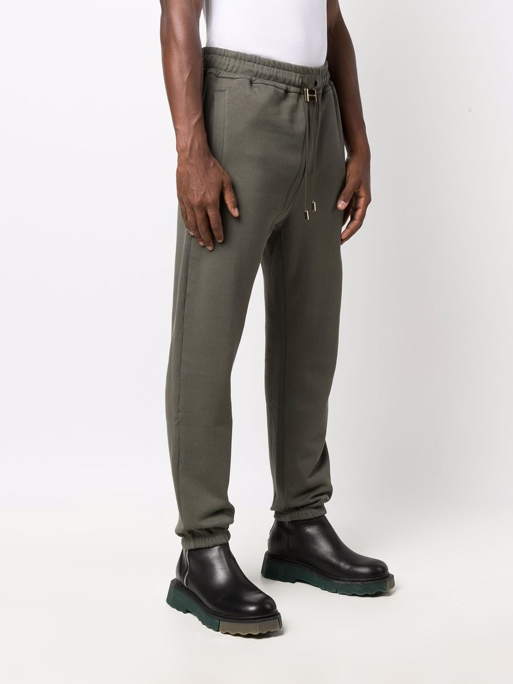 Picture of Buscemi | Raised Logo Track Pants