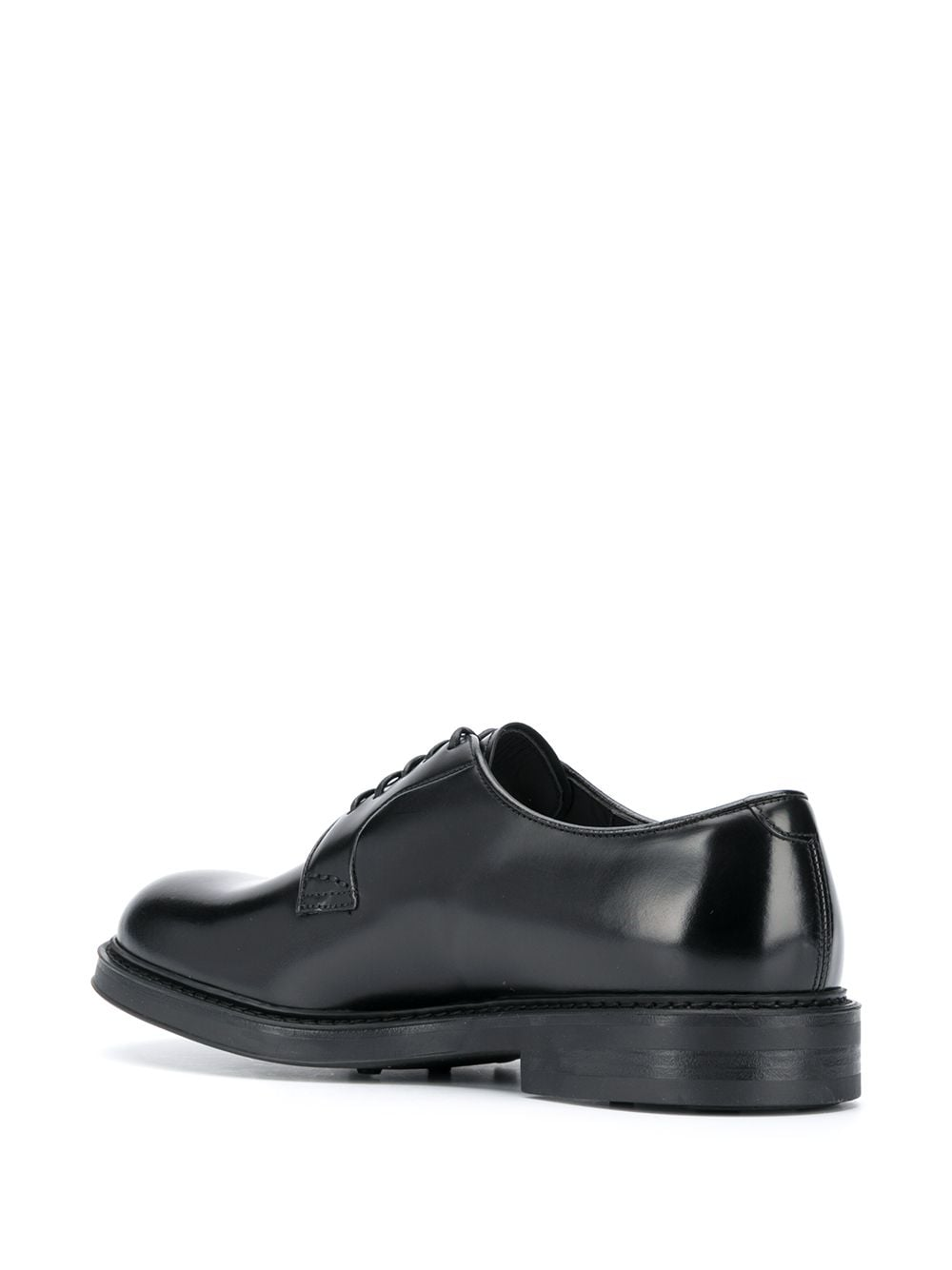 Picture of Doucal`S   Leather Derby Shoes