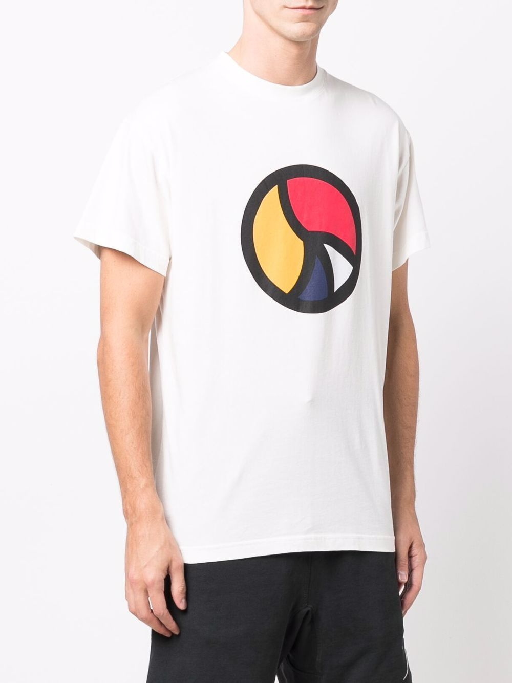 Picture of Bel Air Athletics   Twisted Peace Print T-Shirt