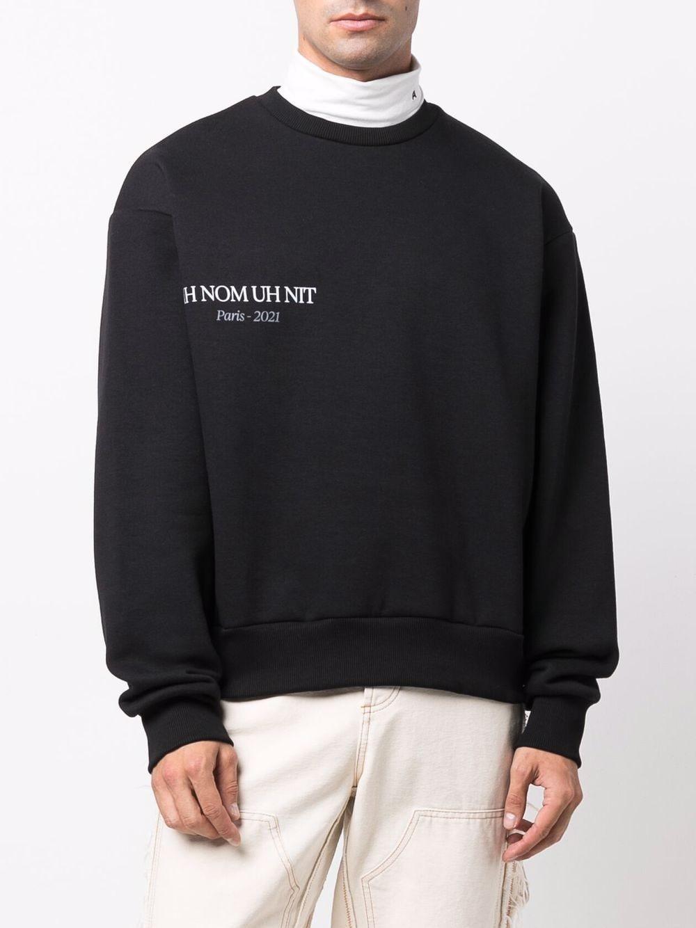 Picture of Ih Nom Uh Nit   Crew Neck Logo Sweatshirt