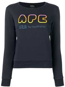 Picture of A.P.C. | Rainbow Logo Print Sweater