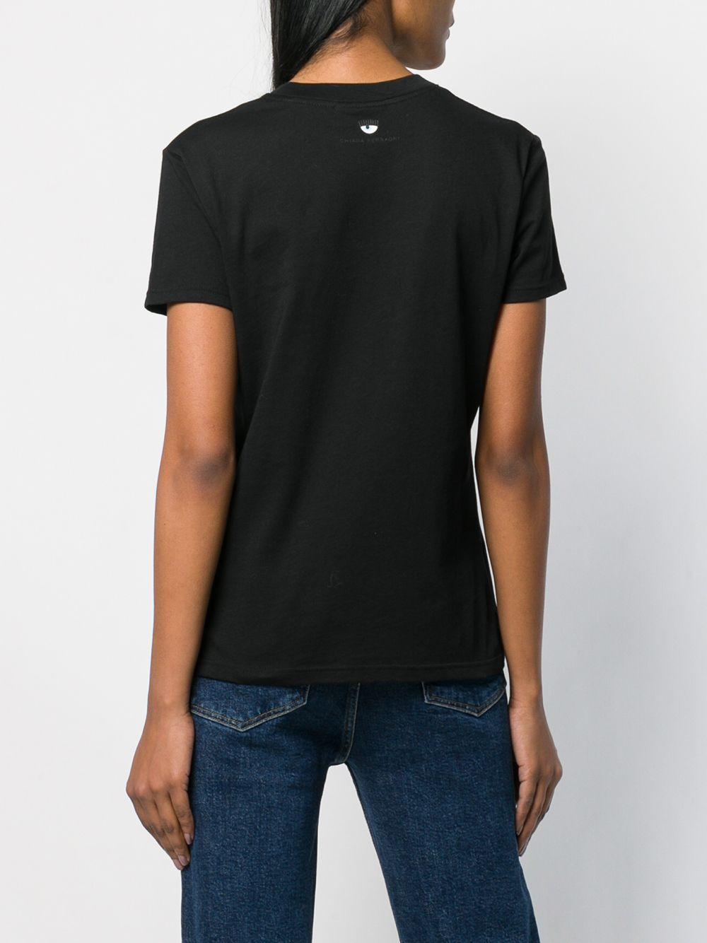 Picture of Chiara Ferragni | Embroidered Wink T-Shirt