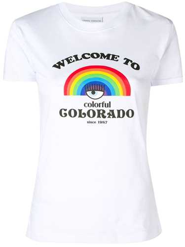 Picture of Chiara Ferragni | Rainbow Print T-Shirt
