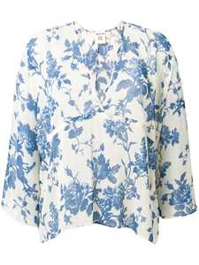 Picture of Semicouture | Floral Printed Blouse
