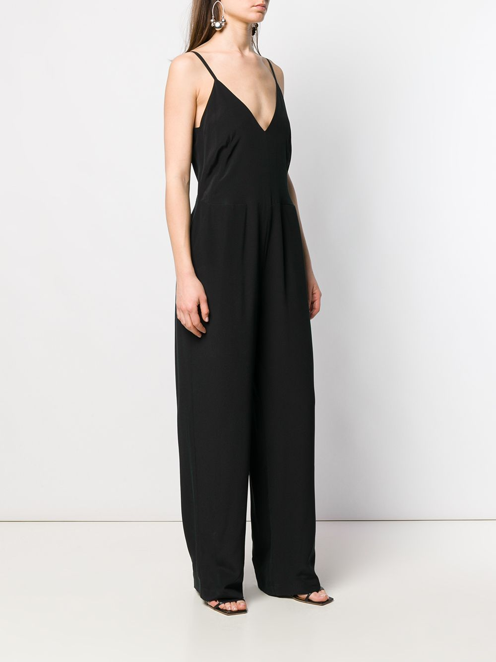 Picture of Semicouture | V-Neck Jumpsuit