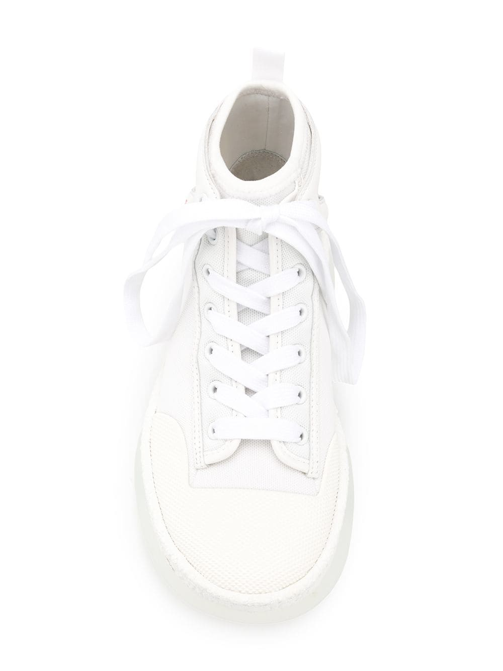 Picture of Alexander Wang | Lace Up Hi-Top Sneakers