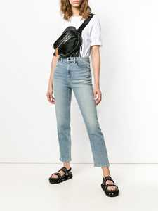 Picture of Alexander Wang | Cropped Straight Leg Jeans