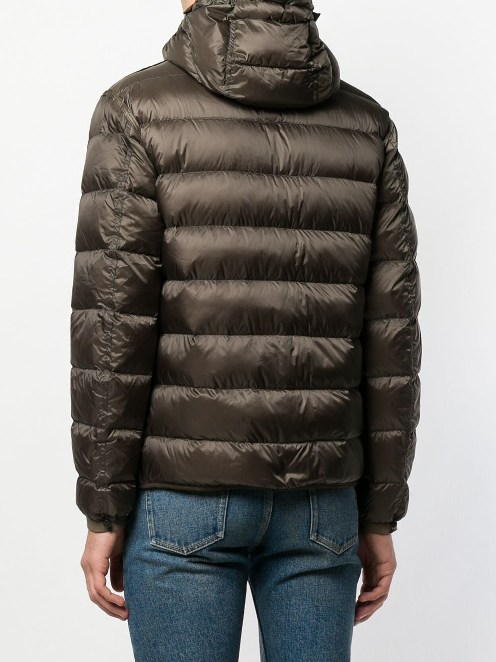 Picture of Ten C   Padded Hooded Jacket