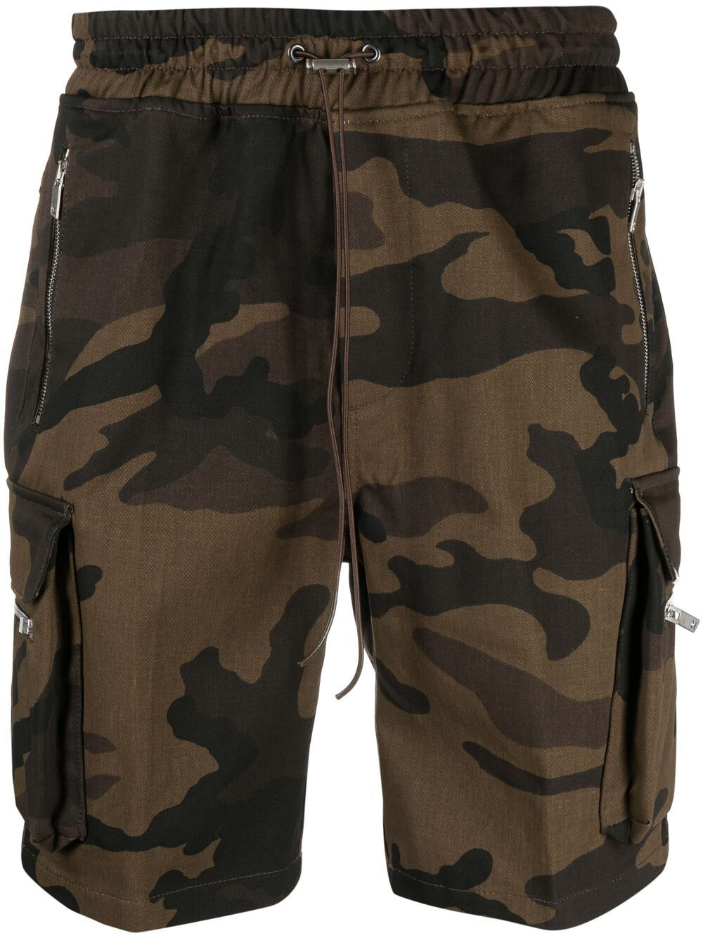 Picture of Represent | Camouflage-Print Shorts
