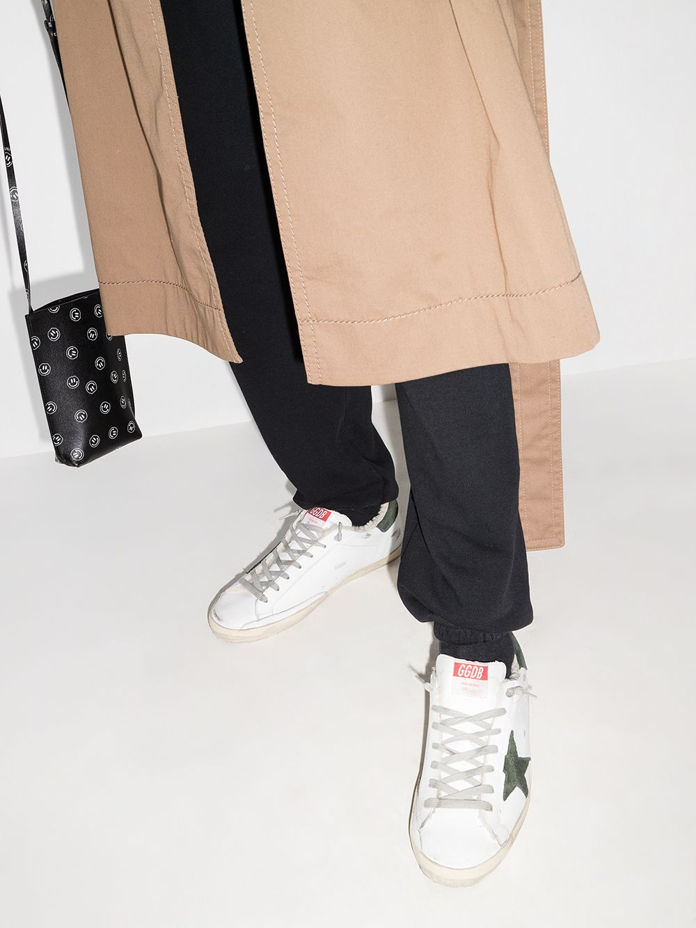 Picture of Golden Goose Deluxe Brand | Super Star Low-Top Sneakers