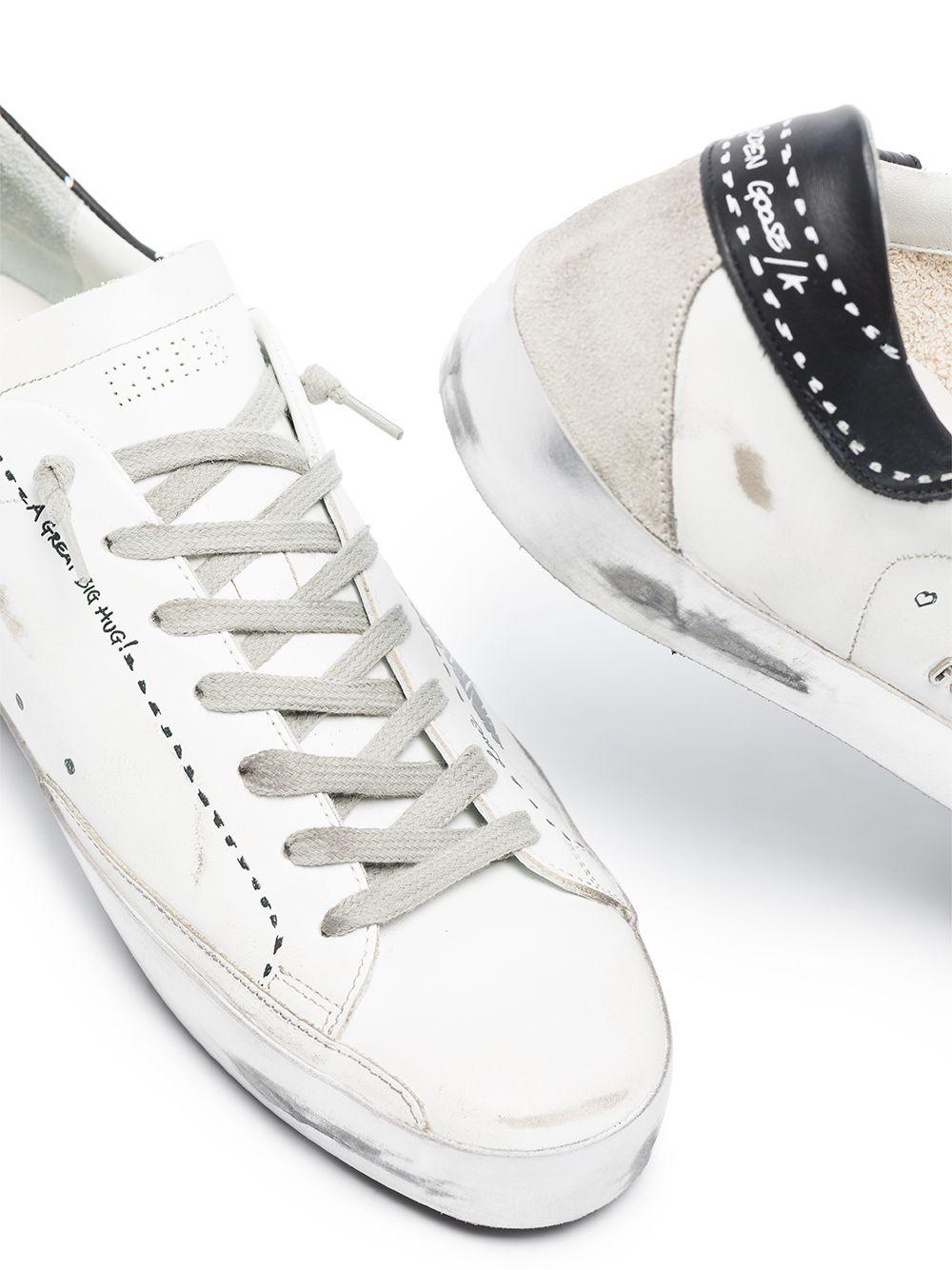 Picture of Golden Goose Deluxe Brand   Superstar Low-Top Sneakers