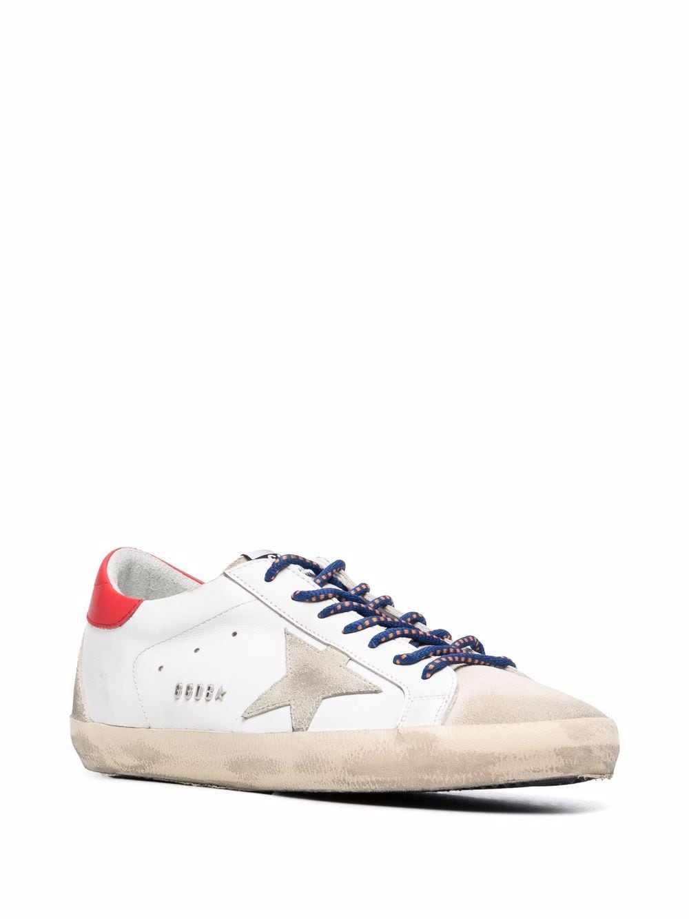 Picture of Golden Goose Deluxe Brand   Super-Star Lace-Up Sneakers