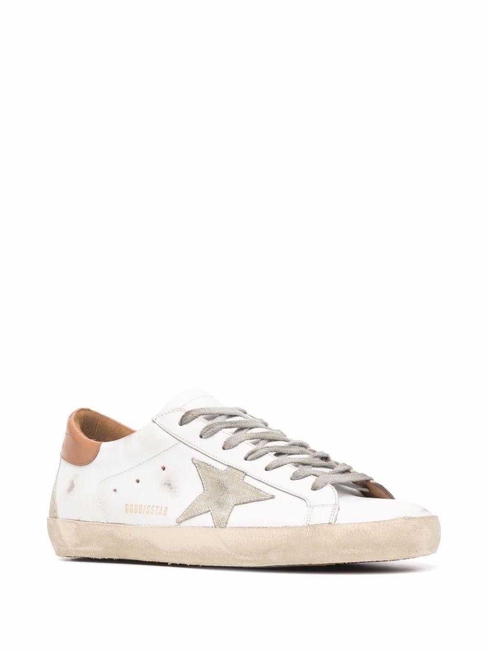 Picture of Golden Goose Deluxe Brand   Golden Goose Superstar Low-Top Sneakers