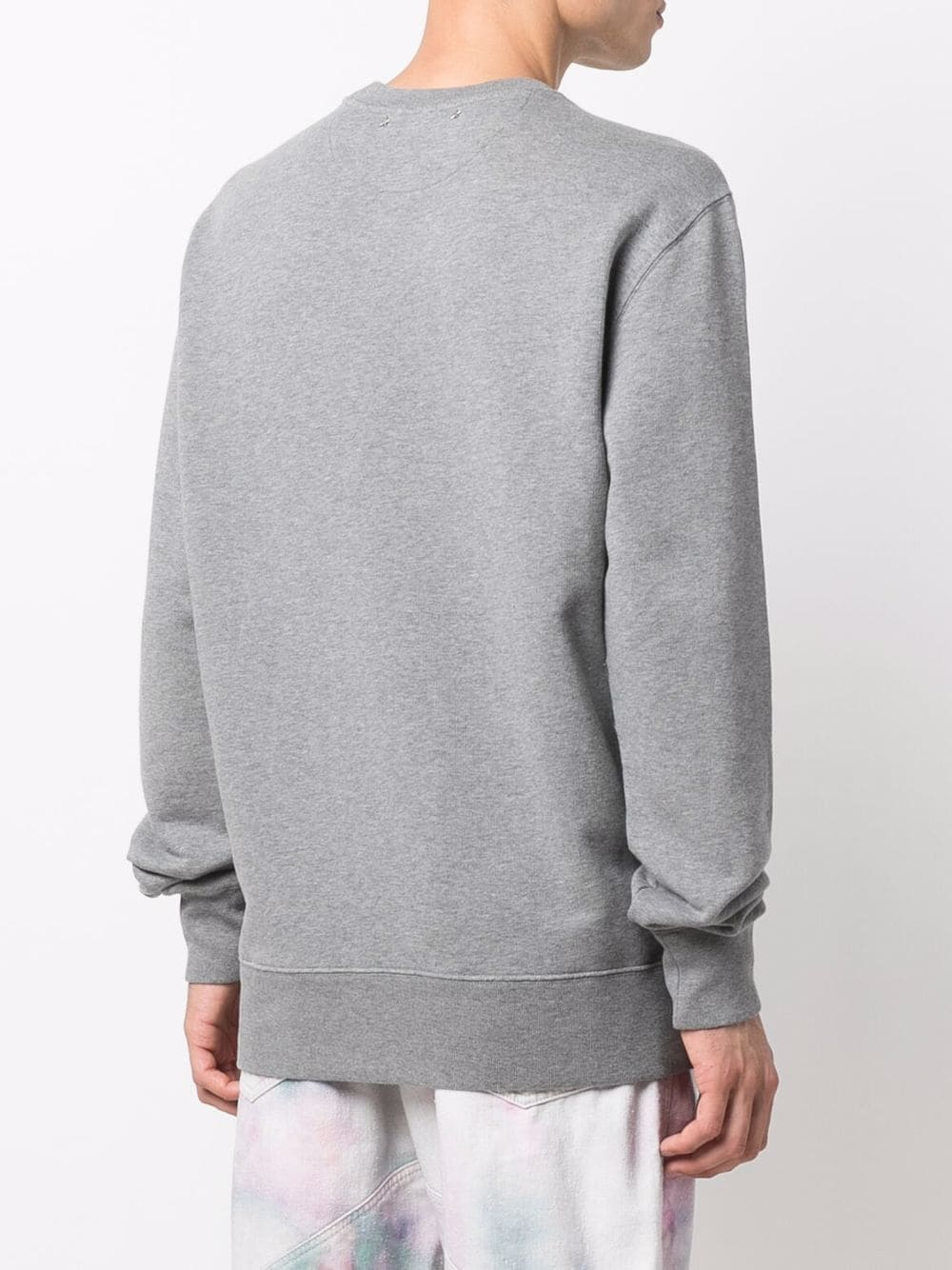 Picture of Golden Goose Deluxe Brand   Logo Round Neck Sweatshirt