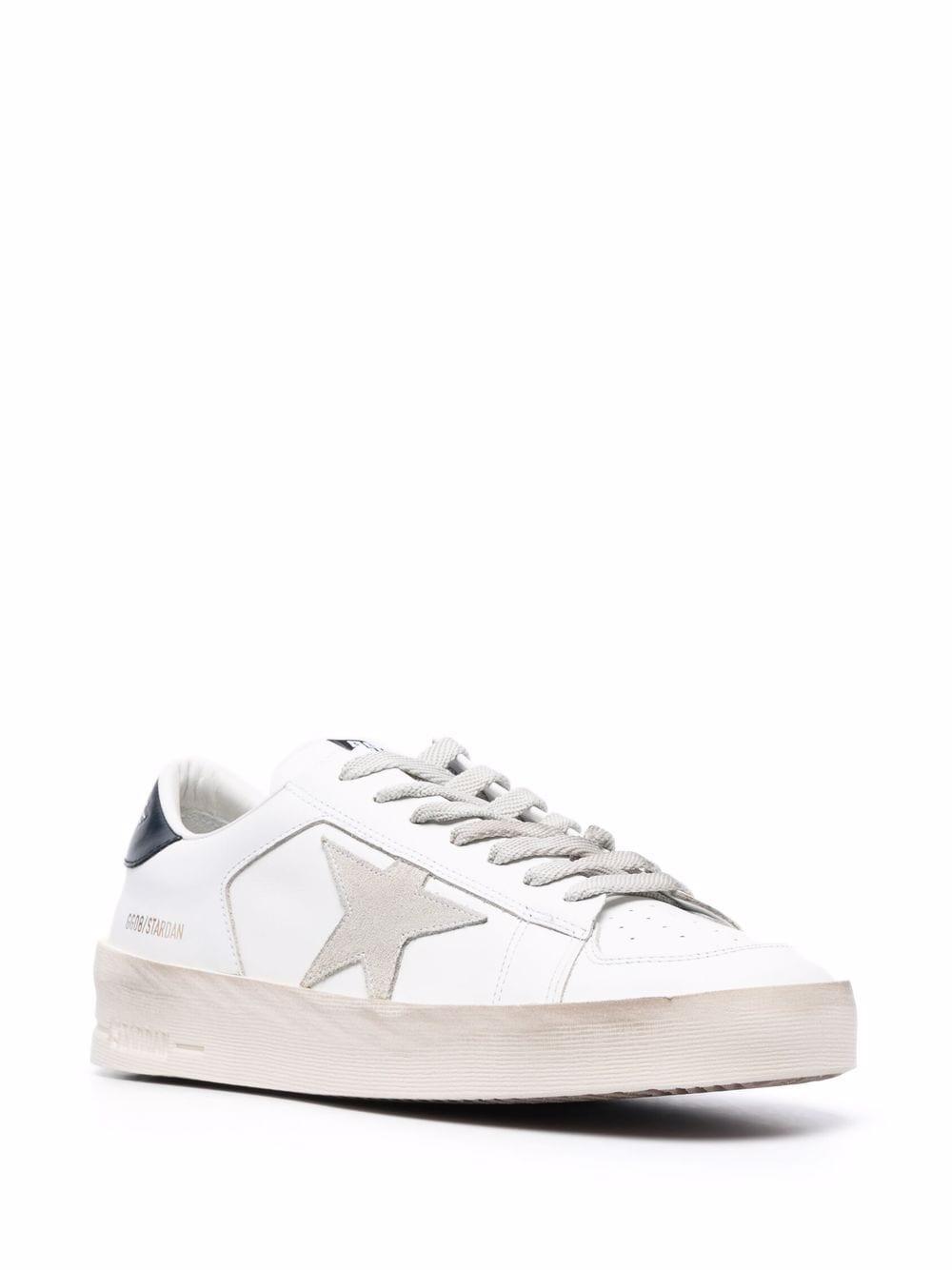 Picture of Golden Goose Deluxe Brand   Stardan Low-Top Sneakers